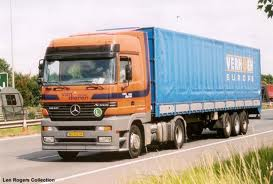 packers and movers truck carrying household goods