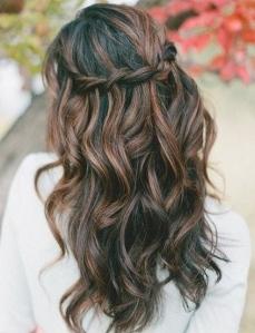 beautiful lovely shiny healthy hair women